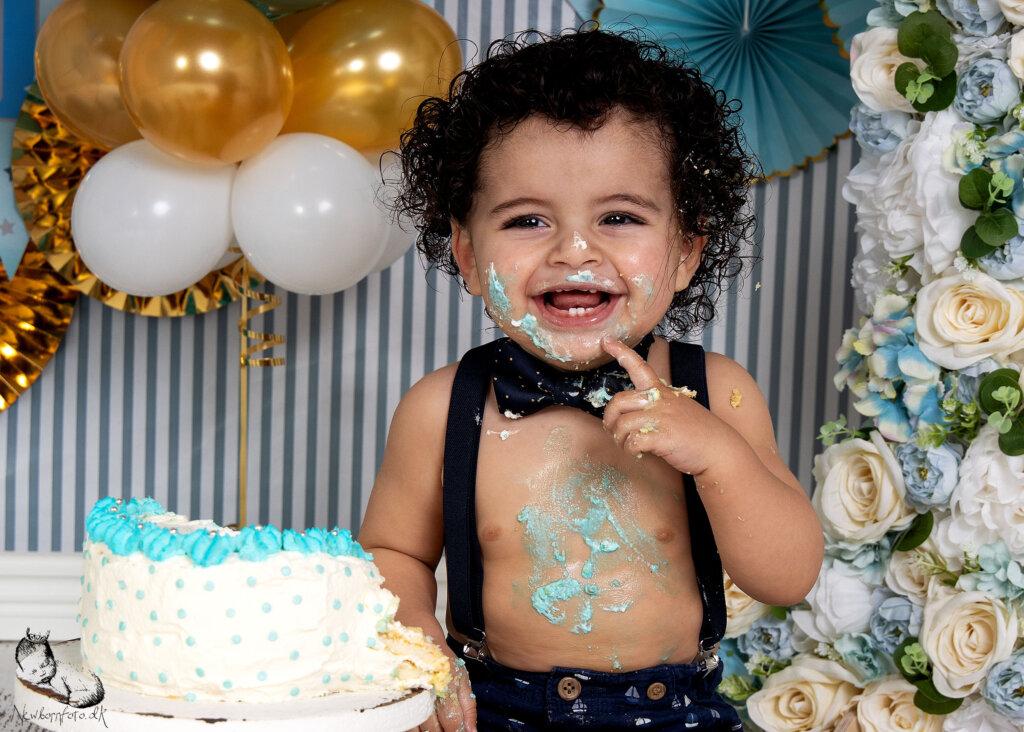 Cake Smash fotografering 1